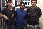Suspeito de homicídio que fugiu de delegacia é recapturado pela polícia