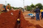 Iniciada a segunda etapa das obras de instalação de rede de água para o Alfredo de Castro