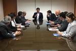 Oscar Bezerra se reúne com o Ministro de Minas e Energia em Brasília