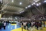 Abertura dos Jogos do Instituto Federal de Mato Grosso lota Ginásio Pianão