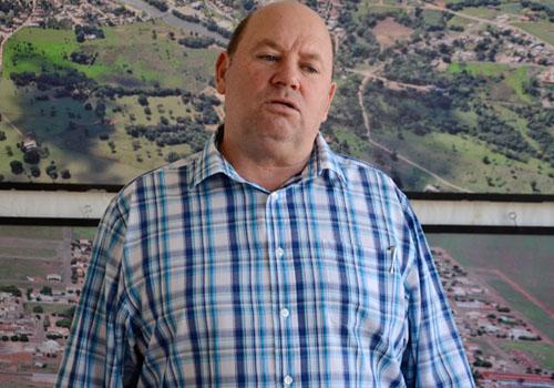 Humberto Bortolini, prefeito de Itiquira. Foto: Luan Dourado/GazetaMT