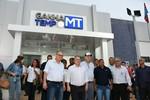 Taques e Pátio lideram comitiva em visita às obras do município