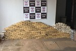 Cerca de 450 kg de droga são apreendidos pela Polícia Civil
