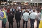 Mais de 7500 pessoas participam da palestra do deputado Jair Bolsonaro