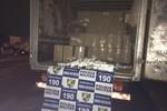 PM prende dois e apreende carregamento de cigarros avaliado em R$ 70 mil