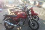 Ação integrada entre PM e PJC apreende motocicletas de leilão com placa de vende-se