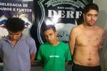 Três dos cinco fugitivos foram recapturados pela PJC
