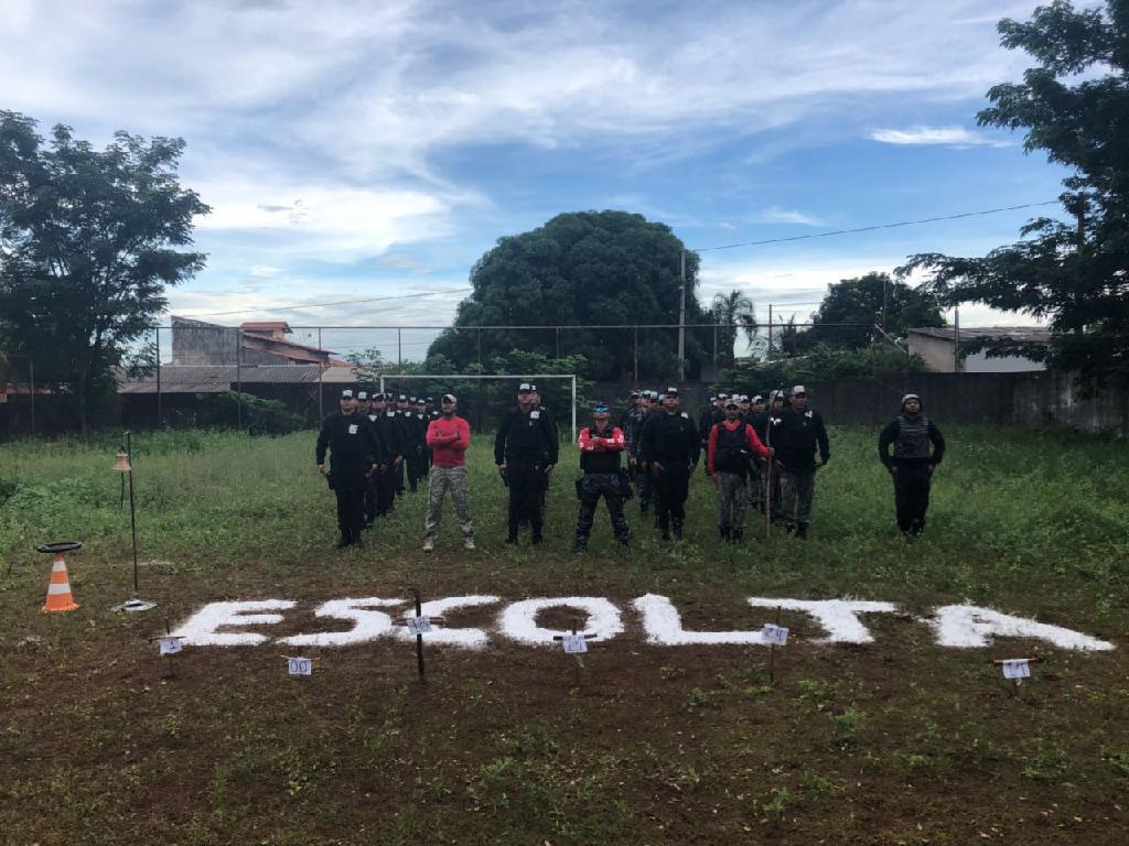Agentes que participaram da capacitação. (Foto: divulgação Sejudh/MT)