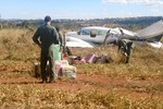 """Presos, piloto e copiloto do """"avião do pó"""" dizem que não decolaram da fazenda de Maggi"""