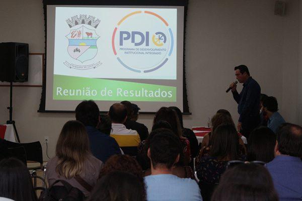 Prefeito Leonardo Bortolin apresenta PDI. Foto: Assessoria