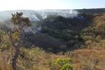 Incêndio em em área de nascente do Rio Paraguai é controlado