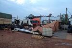 Chuva e vento forte destroem empresa e veículos em Rondonópolis