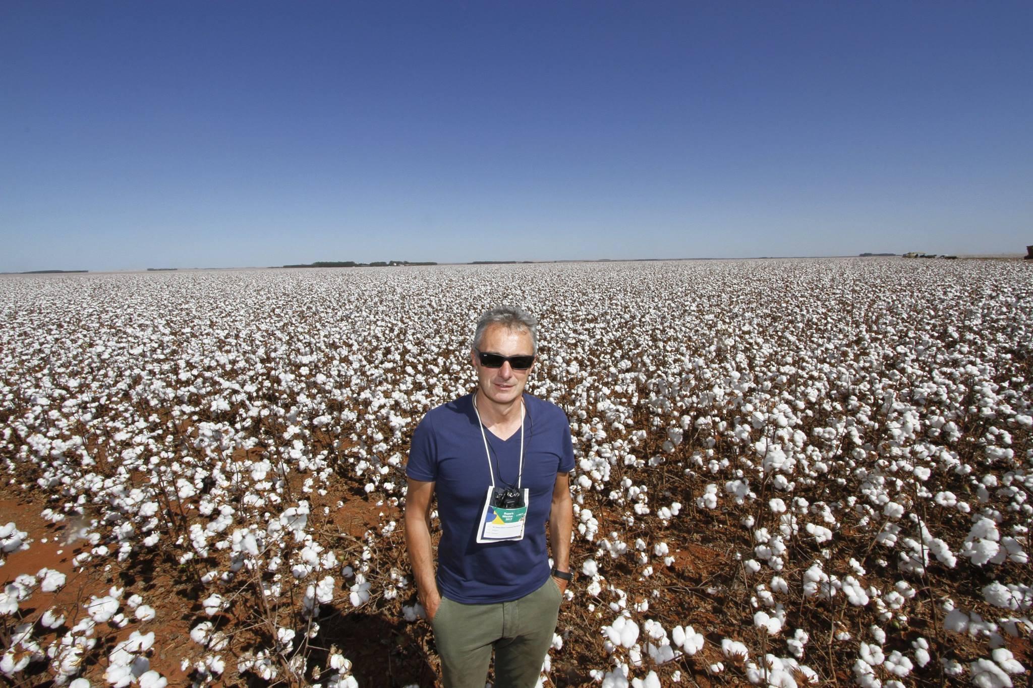 Danni Van Namen, representante da Reinhart/Ásia, diz que o Brasil supera todas as expectativas na produção. Foto:    Carlos Rudiney Mattoso