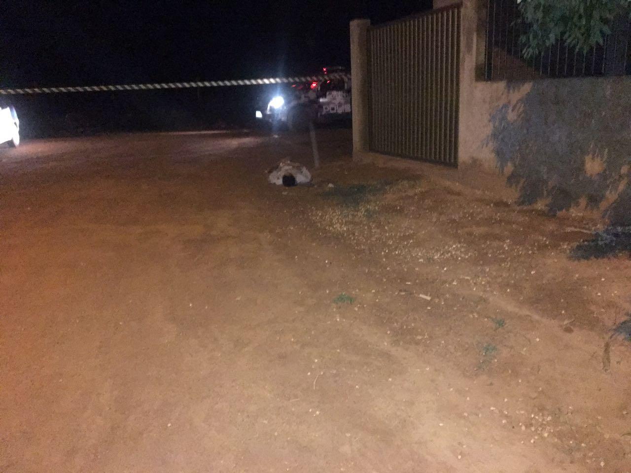 Uma das vítimas assassinadas em Rondonópolis. Foto: rede social.
