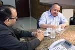 Taques recebe candidatos à eleição para delegado geral da Polícia Civil