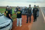 Operação integrada combate o tráfico de drogas e armas em Itiquira