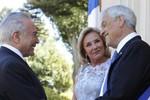 Temer recebe recebe hoje, em Brasília, o presidente do Chile