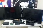 Derf localiza residência usada para guardar objetos roubados