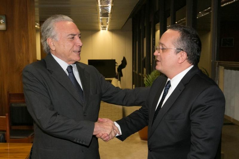 Michel Temer e Pedro Taques