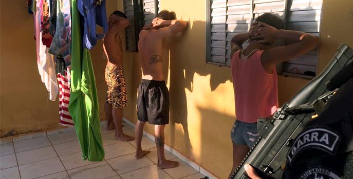 Os mandados foram expedidos após levantamento de pontos usados para o comércio de droga. - Foto - Assessoria