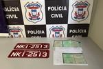Polícia Civil e Detran prendem dois por suspeita de fraudes em transferência e emplacamento