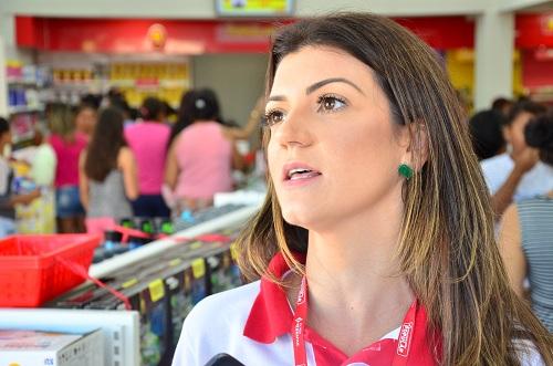 Sabrine Segato, gerente. Foto: Sirlei Alves /GazetaMT