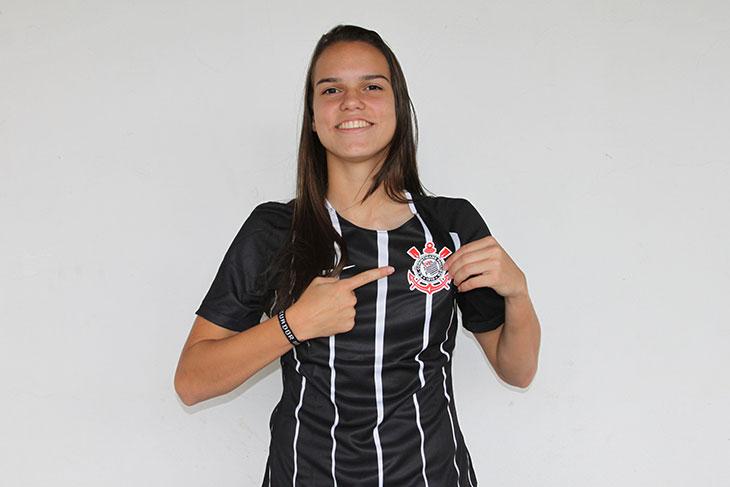 Natural de Rondonópolis (MT), Ana Vitória está no Corinthians desde o último ano, quando chegou ainda aos 16 anos. (Foto: divulgação)