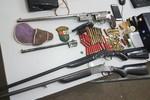 Polícia Ambiental apreende armas em Rondonópolis e Itiquira