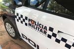 Jovens são presos em Rondonópolis com televisão furtada de loja