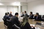 Maluf participa de reuniões com ministros em Brasília