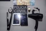 Casal de jovens é preso pela Polícia Civil por tráfico de drogas