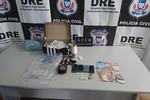DRE e Polícia Militar cumprem 16 buscas contra o tráfico de drogas