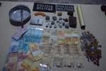 Casal e menor são detidos pela PM por tráfico de drogas