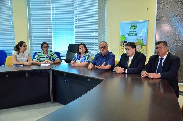 Coletiva de imprensa ocorreu ontem, na Prefeitura. Foto: Sirlei Alves/GazetaMT