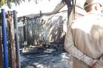 Galpão de empresa pega fogo na Avenida Fernando Correa, ninguém se feriu