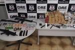 Trio é preso em flagrante pela DRE por envolvimento com o tráfico de drogas