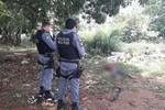 Jovem é assassinado com pelo menos 7 tiros, corpo foi encontrado ar margens da MT-449