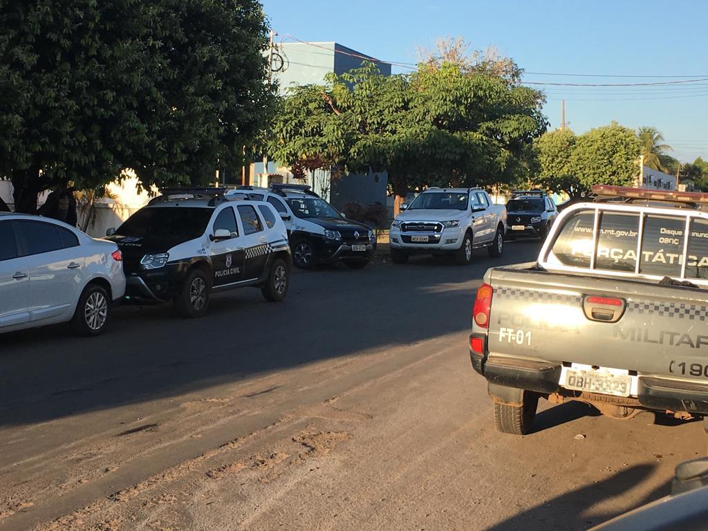 Equipes estão nas ruas desde as primeiras horas desta quinta-feira (11). (Foto: divulgação)