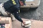 5 Kg de cocaína são apreendidos pela PRF no Trevo do Lagarto