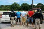PRF prende três e recupera dois veículos roubados que seriam levados para a Bolívia