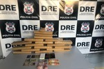 Traficantes são presos com 18 tabletes de maconha em porta-malas de veículo