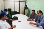 A reitor da Unemat, Thiago Silva pede novos cursos e sede em Rondonópolis