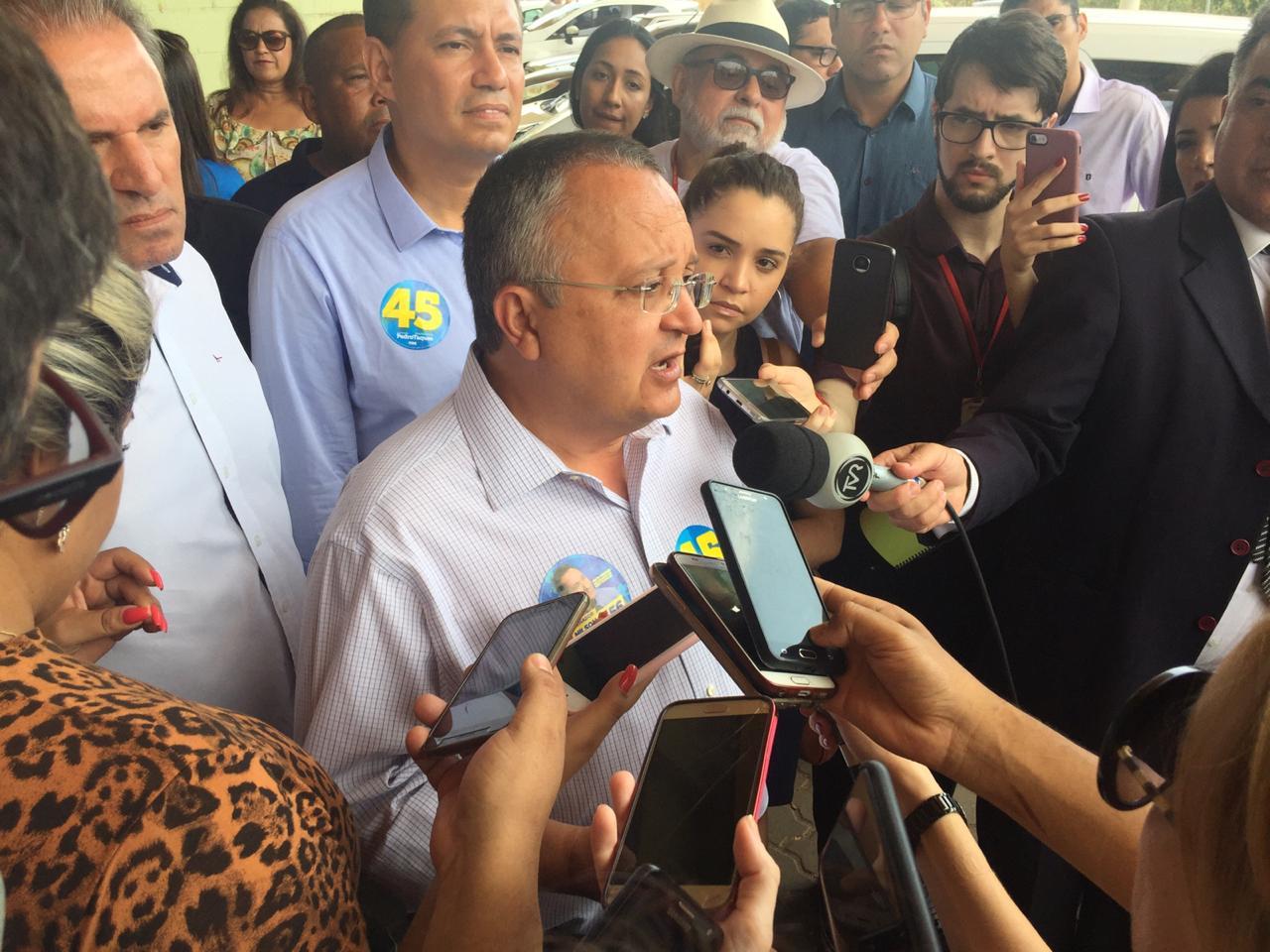 Candidato falou sobre o processo de campanha. Foto: GazetaMT