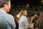 Esposas de candidatos mostram força e reúnem cinco mil mulheres em encontro