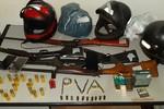 Polícia prende suspeitos de homicídio com armas e munições em MT