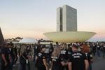Investigadores da PJC de Mato Grosso protestam contra a reforma da previdência