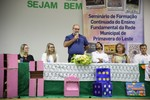 Mais de 450 professores da rede municipal participam de seminário de formação continuada