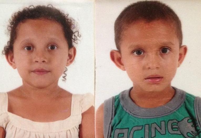 Maria Eloisa Aparecida Oliveira da Silva, 10, e João Batista Lucas Gabriel, 9. (Foto: arquivo pessoal)