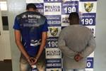 Suspeitos são presos pela PM com revólveres após roubo em Rondonópolis