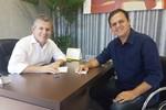 Em Reunião com Mauro Mendes, Thiago Silva pede prioridade para saúde